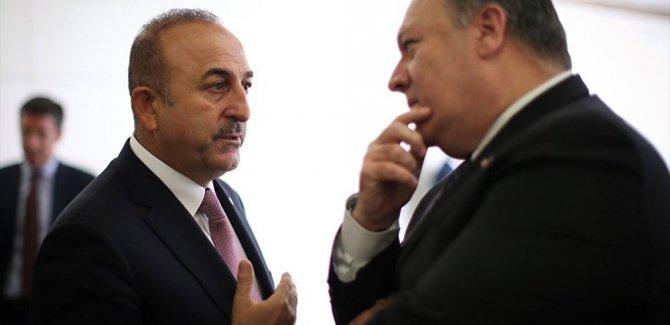 Pompeo: Türkiye ile Suriye'den çekilmenin uygulama aşamalarını görüşüyoruz