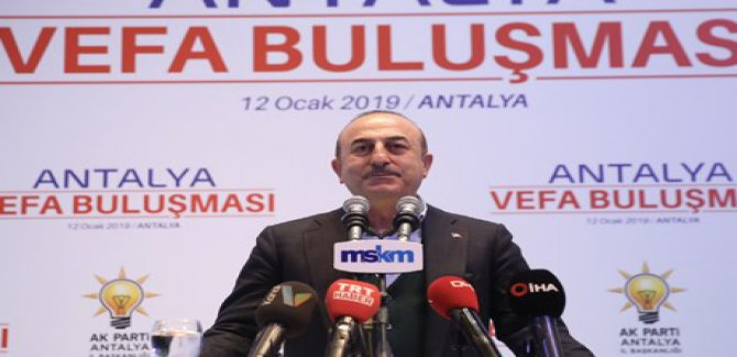 Çavuşoğlu'dan ABD'ye: Siz geçmişte de Kürtleri kullandınız