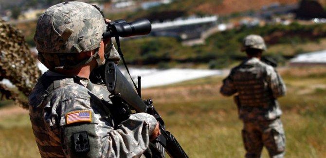 ABD sınırdaki güçlerin görev süresini uzattı