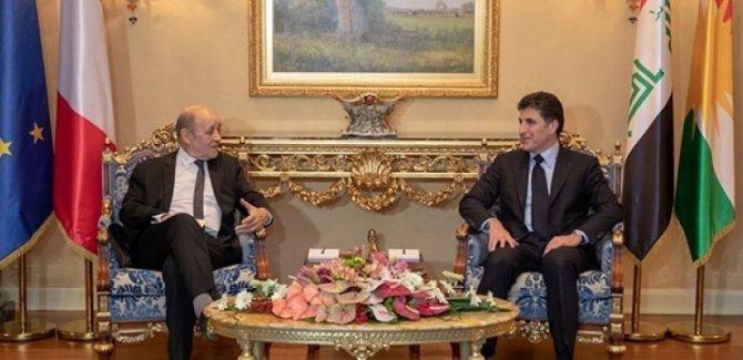 Fransa: Kürdistan'a desteklerimiz sürecek