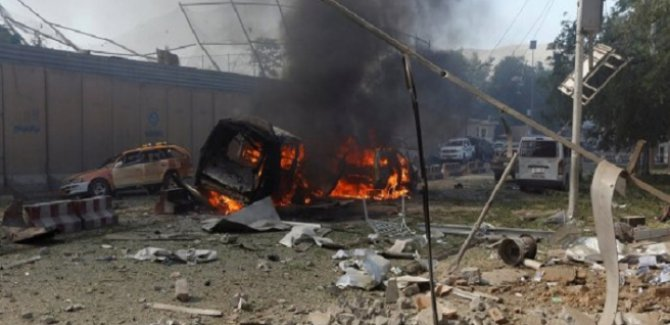 Afganistan'da voleybol maçına saldırı: 5 ölü