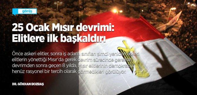 25 Ocak Mısır devrimi: Elitlere ilk başkaldırı