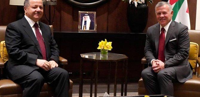 Barzani, Kral II. Abdullah ile bir araya geldi