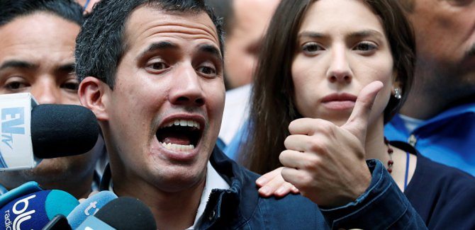 Venezüella Başsavcısı'ndan Guaido'ya karşı ihtiyati tedbir talebi