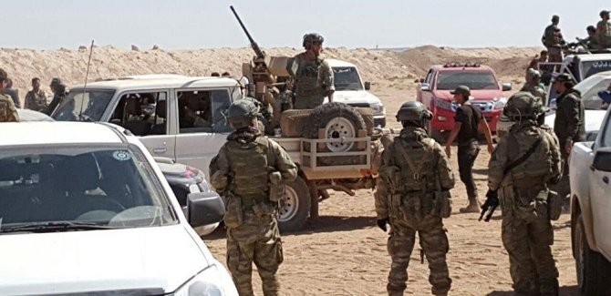 ''ABD Fırat'ın batısında Suriye ordusuna saldırdı''