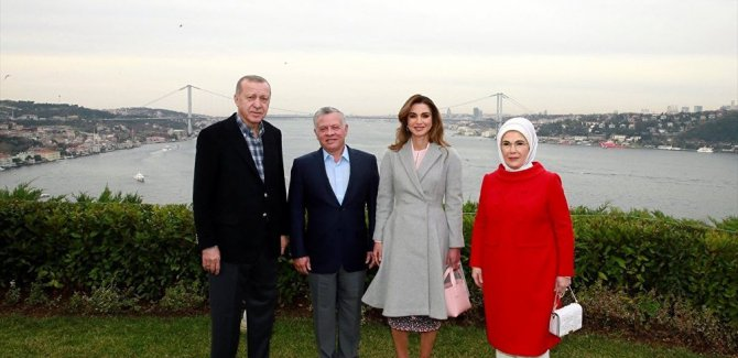 Erdoğan, Kral Abdullah ile biraraya geldi