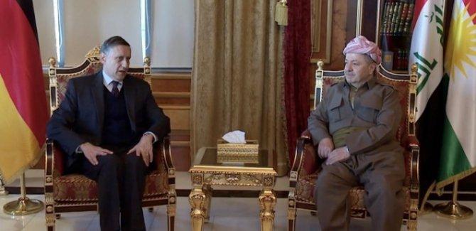 Alman Büyükelçi: Kürt ve Ortdoğu halklarının Barzani'den büyük beklentisi var