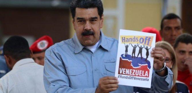 Maduro'dan ABD halkına açık mektup: Venezuela'dan elinizi çekin
