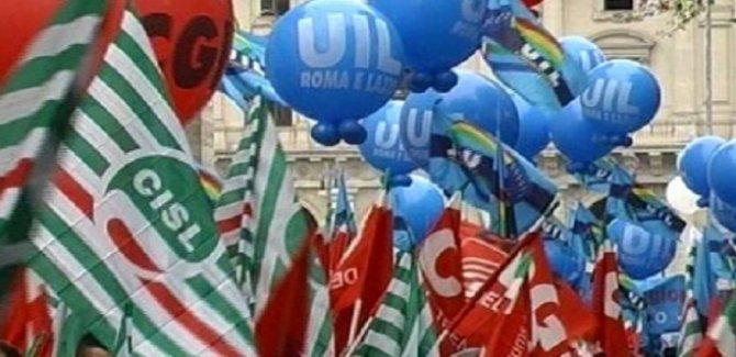 İtalya'da işçiler meydana çıktı