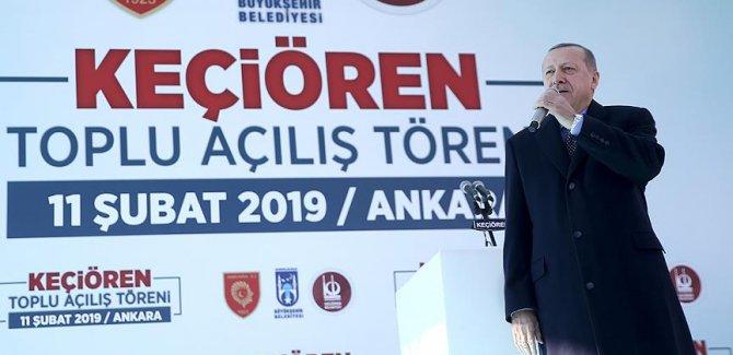 Erdoğan: Tanzim satış noktalarında fiyatlar yarı yarıya düştü,