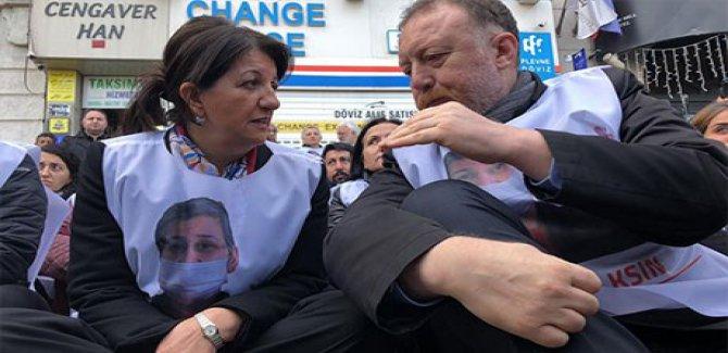 HDP'nin Taksim yürüyüşüne polis engeli