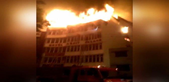 Otelde çıkan yangın can aldı: En az 17 ölü