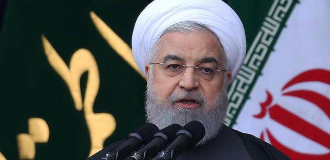 Ruhani: Bölgedeki terörün kaynağı ABD ve İsrail'dir
