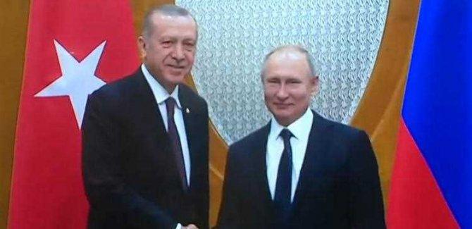 Putin ile Görüşme Öncesi Erdoğan'dan Açıklama