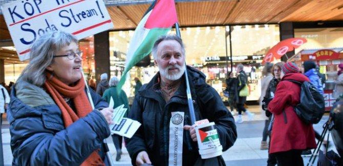 İsveç'te İsrail karşıtı erdemli kampanya