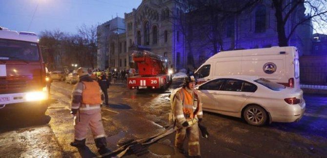 Üniversite binası çöktü!