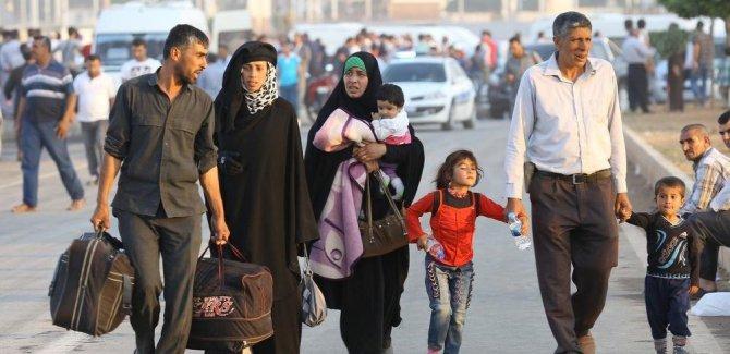 Türkiye'de 3 milyon 644 bin 342 Suriyeli var