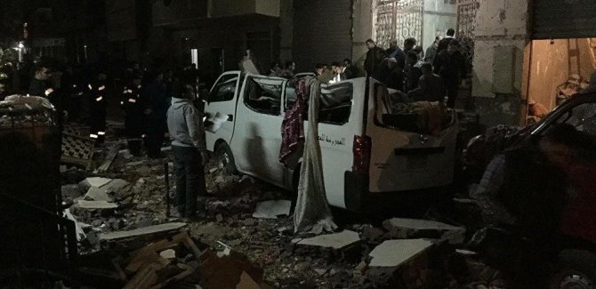 Mısır'da intihar saldırısı