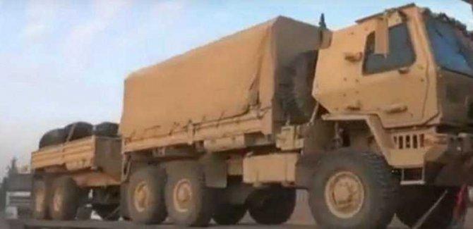 ABD TIRları Irak'tan Suriye'ye Geçti