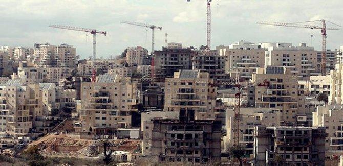 İşgalci İsrail Kudüs'te 4 binden fazla yeni konut inşa ediyor!