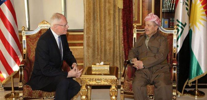 Barzani, Jeffrey ile Suriye Kürtlerini görüştü
