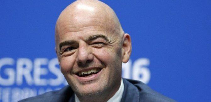 FIFA Başkanı: Türkiye'de 1 numaralı din futbol