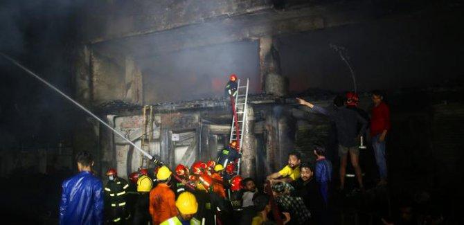 Başkentte yangın: En az 70 kişi hayatını kaybetti