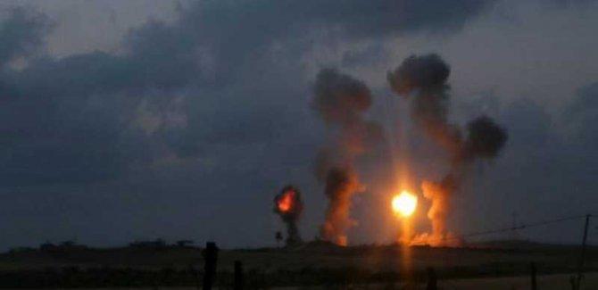 Teröristler Gazze'ye Saldırdı