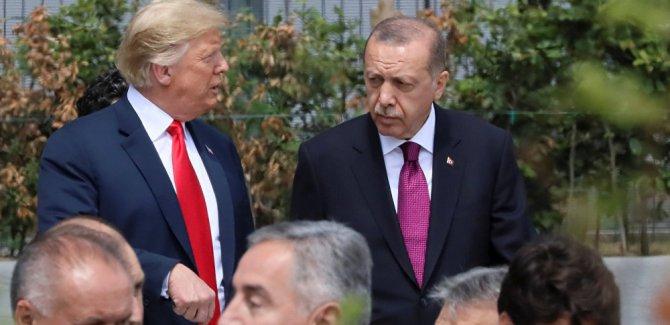Erdoğan, Trump ile Suriye'yi görüştü