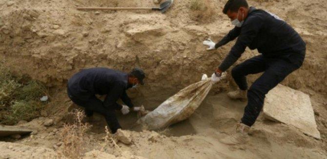 Rakka'da şu ana kadarki en büyük toplu mezar bulundu
