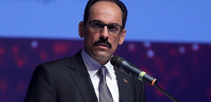 Kalın'dan Sisi'nin terörüne protesto