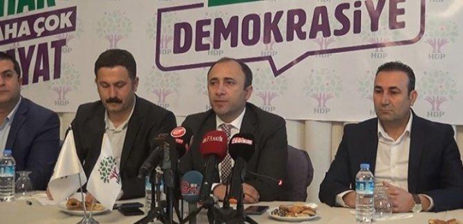 HDP, Urfa'da Saadet Partisi lehine adaylıktan çekildi
