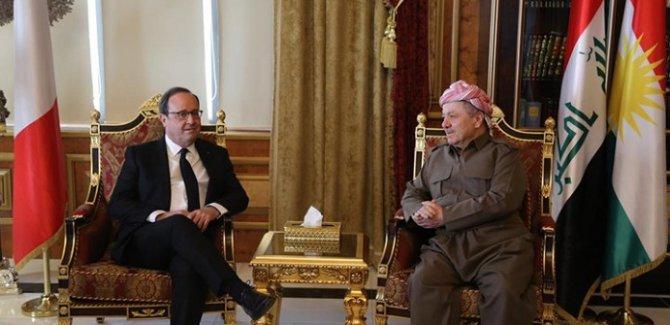 Hollande: Kürdistan'ı aydınlık bir gelecek bekliyor