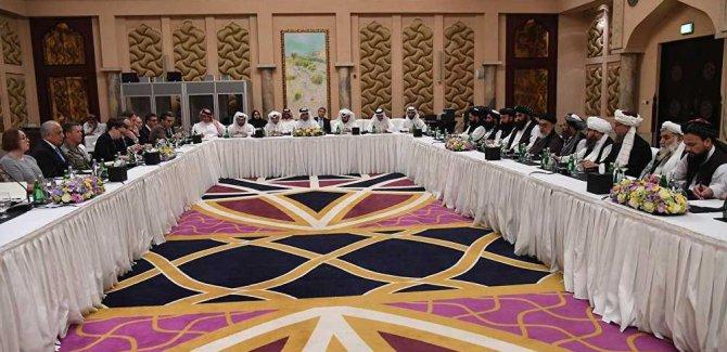 ABD Katar'da Taliban'la Görüştü