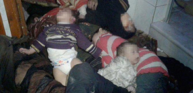 Doğu Guta'da sivillerin kimyasal silahla öldürüldüğü kesinleşti