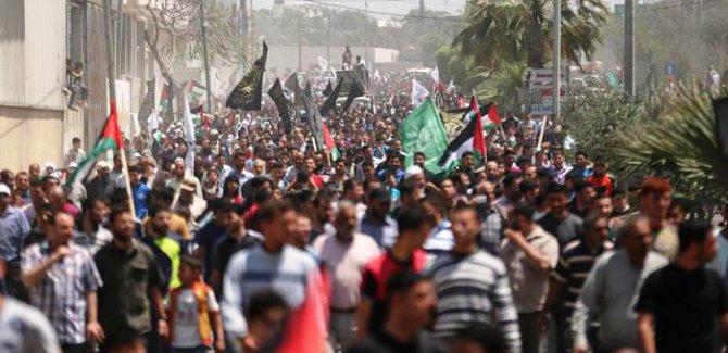 Hamas: İşgalcinin ablukasını kırmak için milyonluk bir gösteriye hazırlanıyoruz