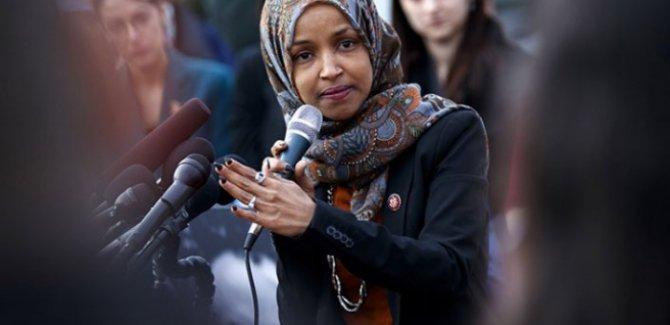 "Ilhan Omar ""terörist"" benzetmesi"