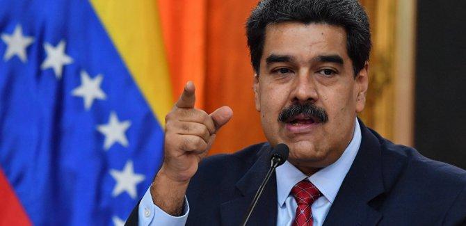 Maduro: Muhalefet ile ABD 'petrol savaşı' çıkarmak istiyor