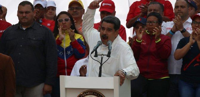 Maduro: Elektriği ABD kesti