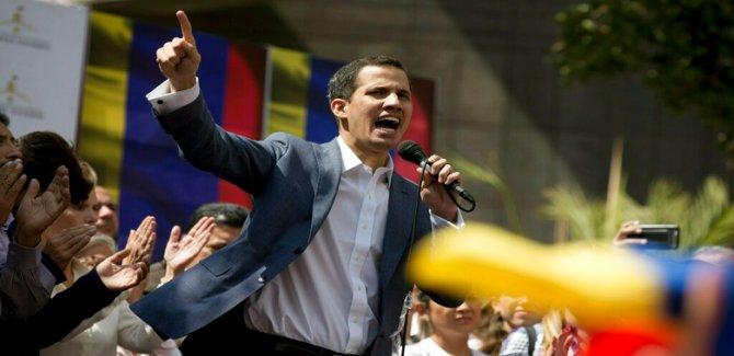 Guaido: Asker destek verirse saraya gideceğim