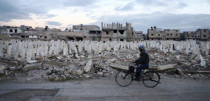 Suriye savaşı bugün dokuzuncu yılına giriyor