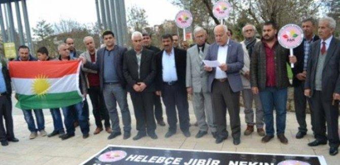 Kürt partilerinden Halepçe anması