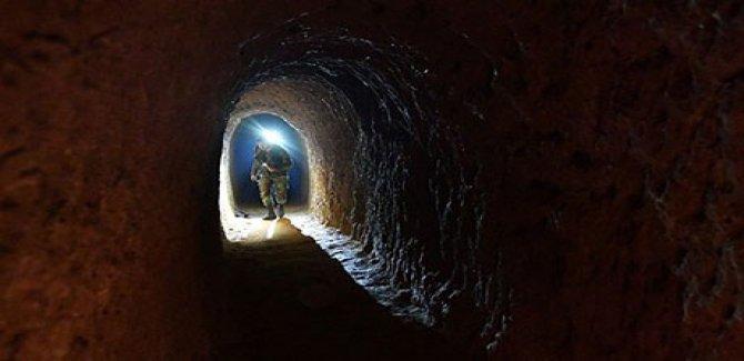 Şam yakınlarında 27 km'lik tüneller bulundu