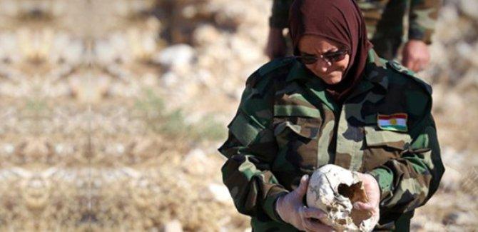 Şengal'de toplu mezar bulundu