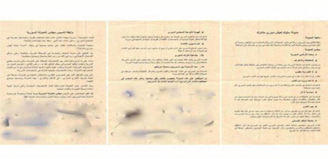Gizli Suriye görüşmesinin belgeleri yayınlandı