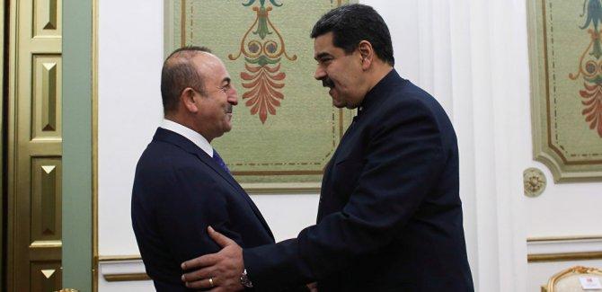 Çavuşoğlu: Maduro '...belki Müslüman olabilirim' dedi