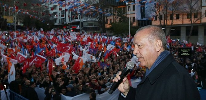 Erdoğan: Trakya'yı bile bize çok görüyorlar