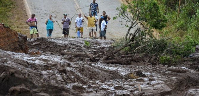 Bir baraj daha çökebilir, Tahliye talimatı verildi