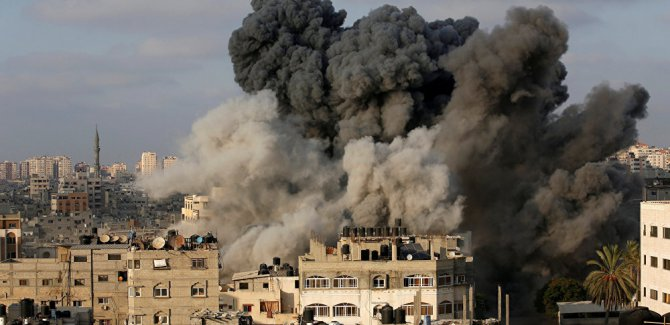 İsrail'in Gazze saldırılarında 500 konut zarar gördü