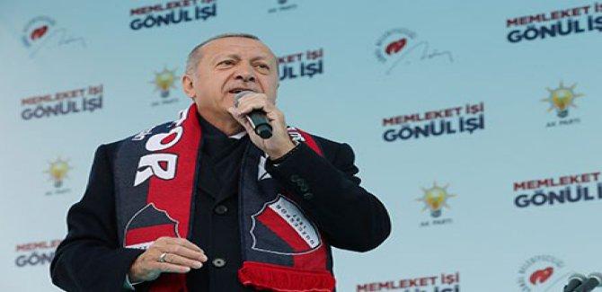 Erdogan ji Kurdan xwest ku dengê xwe nedin Mansur Yavaş